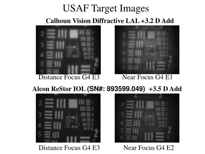 USAF Target Images