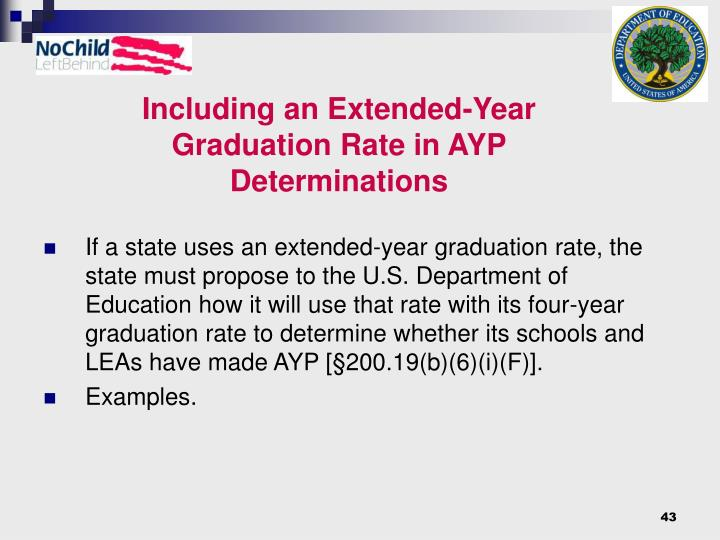 Including an Extended-Year