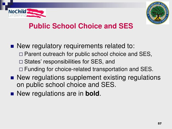 Public School Choice and SES