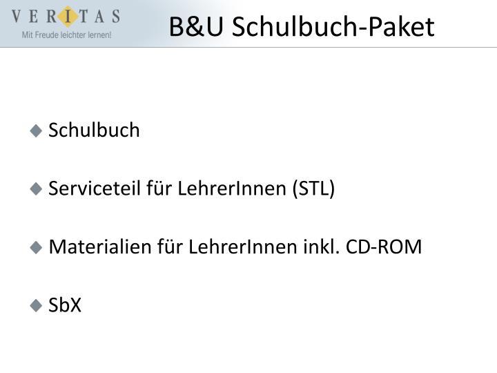 B&U Schulbuch-Paket
