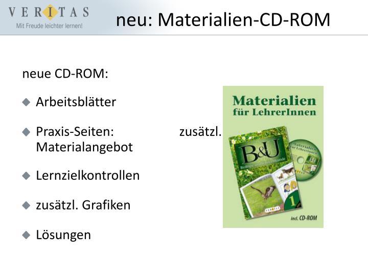 neue CD-ROM: