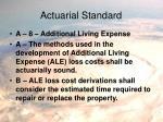 actuarial standard12