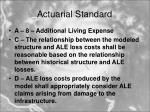 actuarial standard13