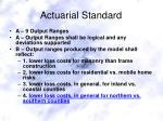 actuarial standard14