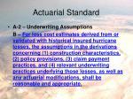 actuarial standard2