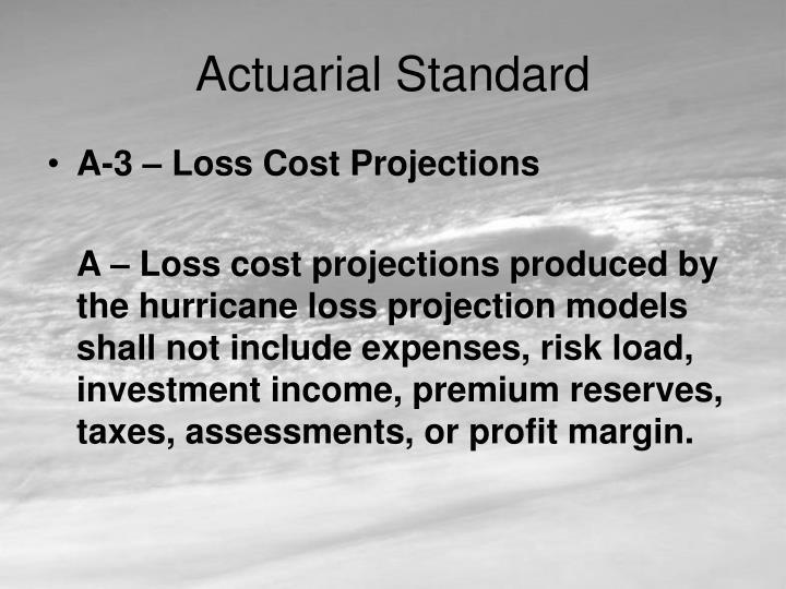 Actuarial Standard