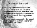 actuarial standard6