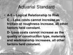 actuarial standard7