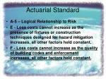 actuarial standard8