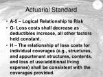 actuarial standard9