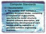computer standards1