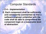 computer standards8