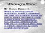 meteorological standard1