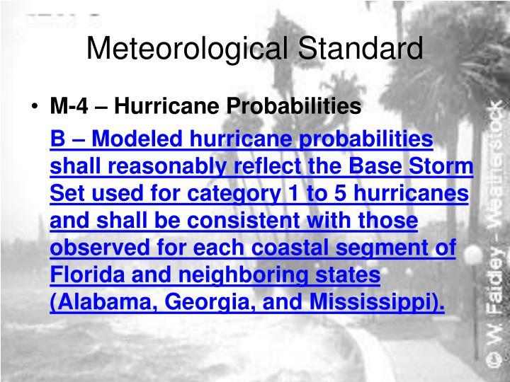 Meteorological Standard