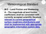 meteorological standard5