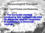 meteorological standard6