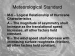 meteorological standard7