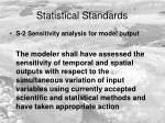 statistical standards1