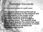 statistical standards2