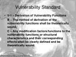 vulnerability standard1