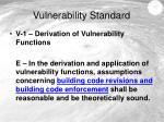 vulnerability standard3
