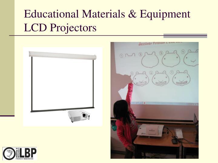 Educational Materials & Equipment LCD Projectors