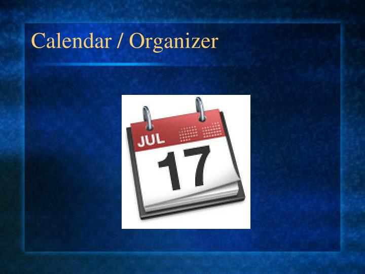 Calendar / Organizer