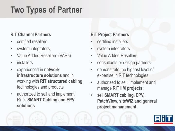 RiT Channel Partners