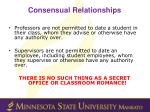 consensual relationships1