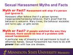 sexual harassment myths and facts1