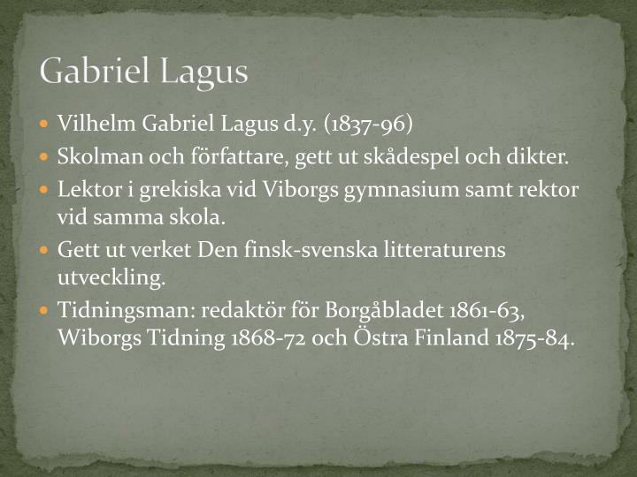 Gabriel Lagus