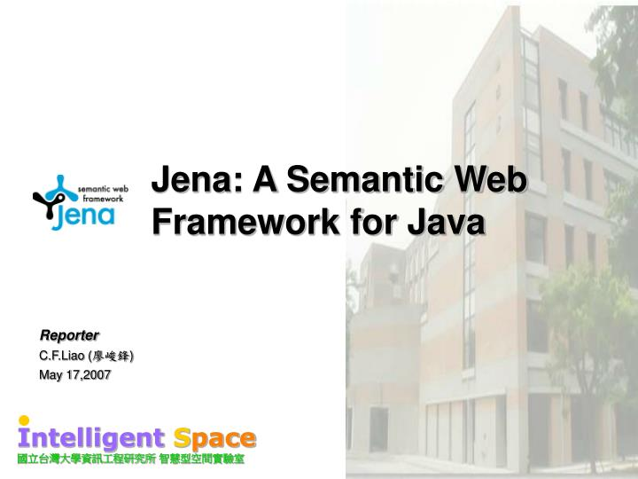 Jena a semantic web framework for java