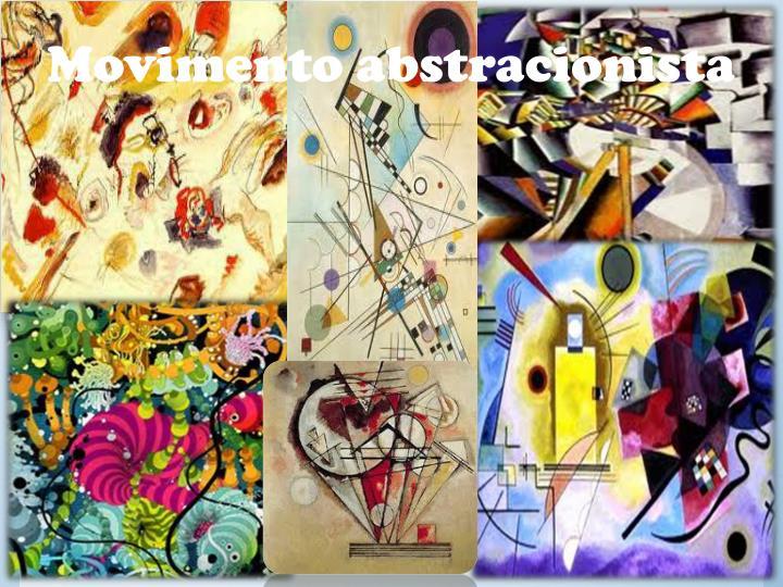 Movimento abstracionista