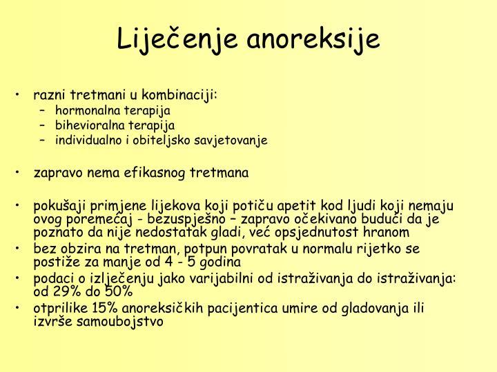 Lijeenje anoreksije