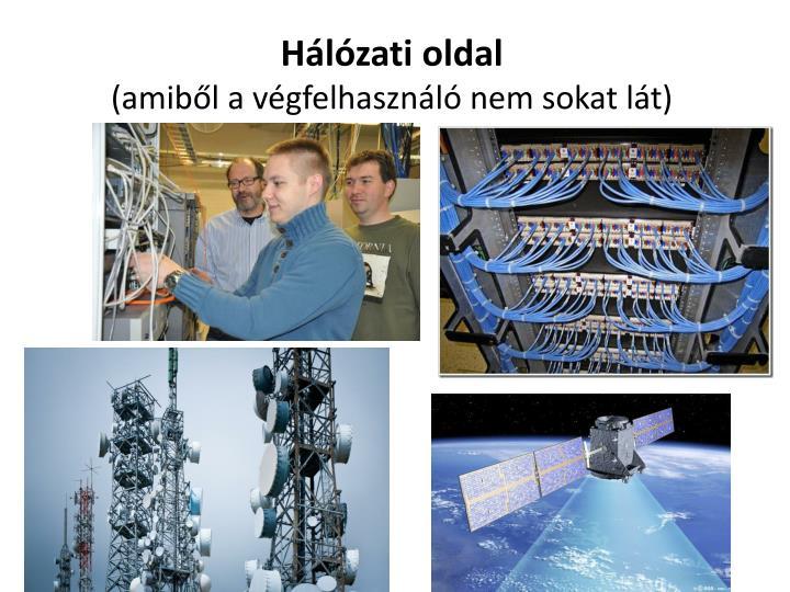 Hálózati oldal