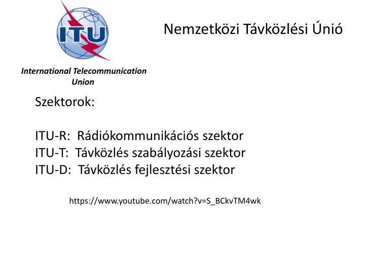 Nemzetközi Távközlési