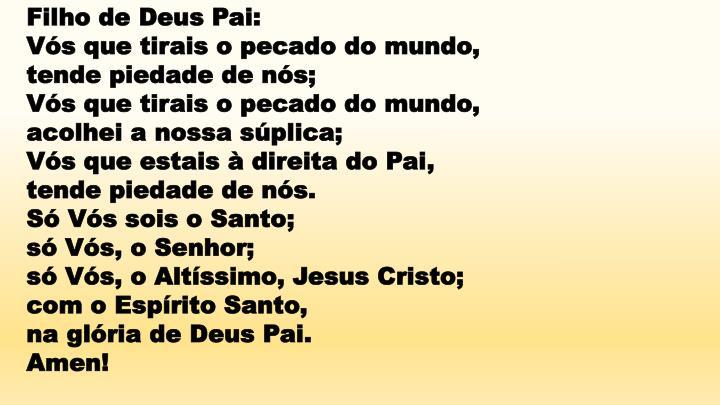 Filho de Deus Pai: