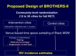proposed design of brothers ii