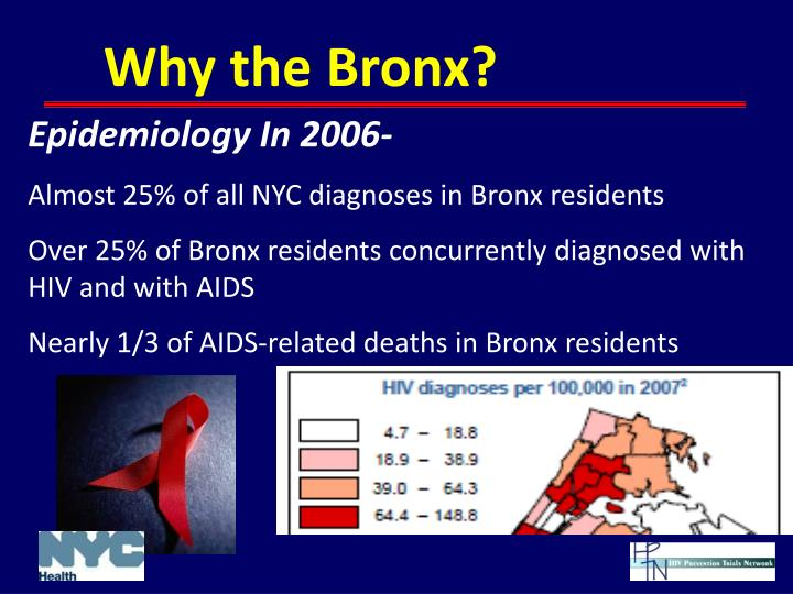 Why the Bronx?