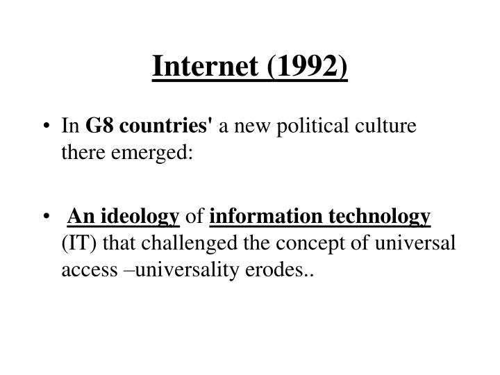 Internet (1992)
