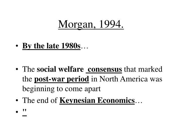 Morgan, 1994.