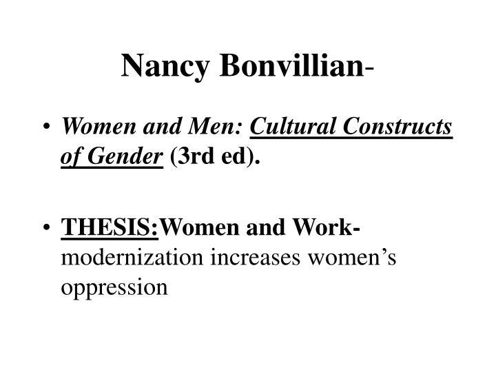 Nancy Bonvillian