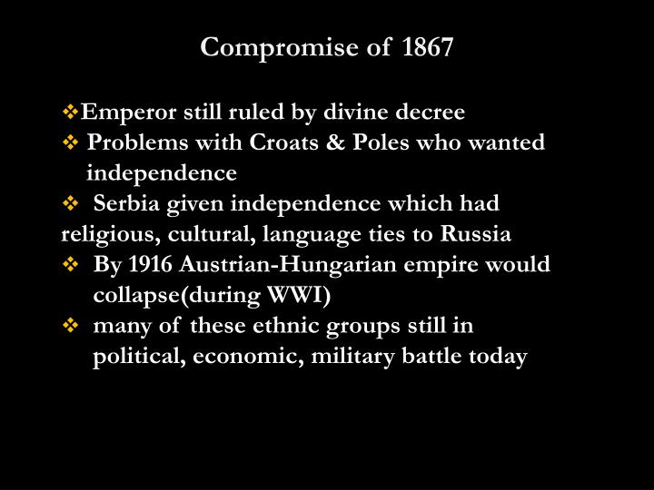 Compromise of 1867
