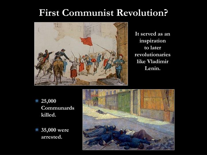 First Communist Revolution?