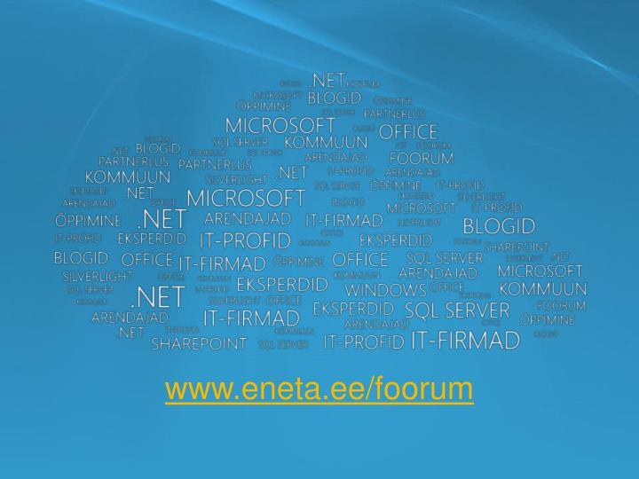 www.eneta.ee/foorum