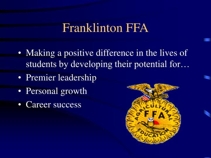 Franklinton FFA