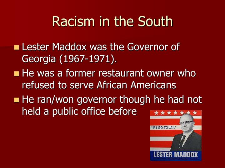 Racism in the South