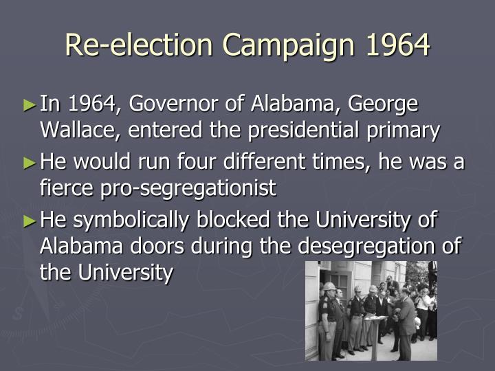 Re-election Campaign 1964
