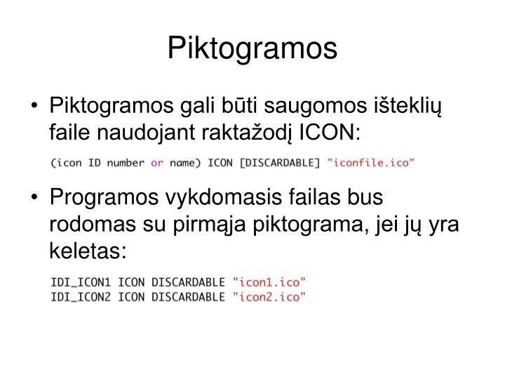 Piktogramos