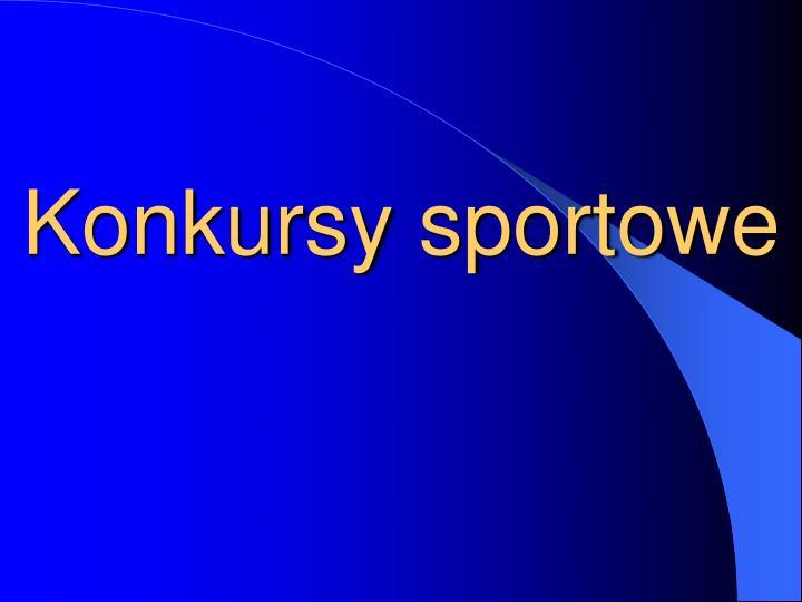 Konkursy sportowe